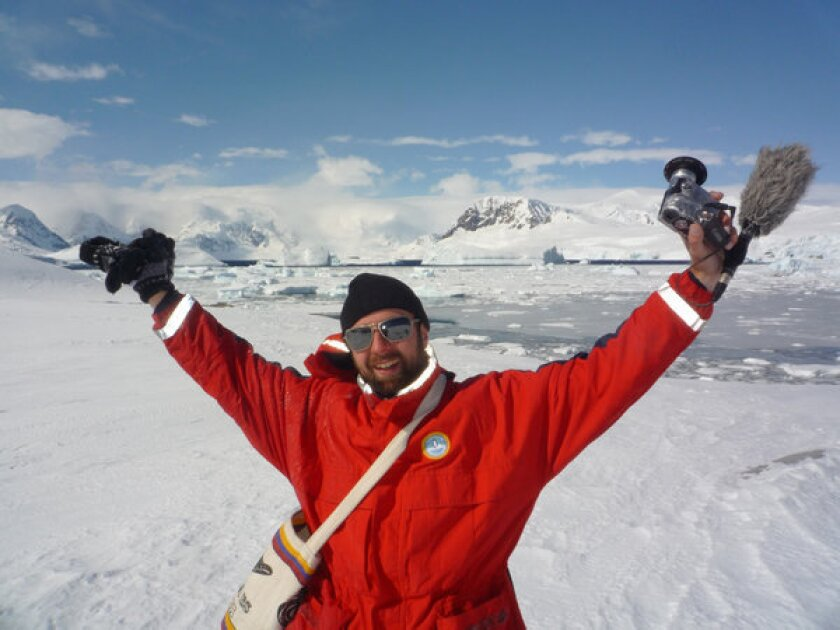 Wigge left Berlin in June 2010 and traveled for 150 days through 11 countries, arriving in Antarctica in November 2010.