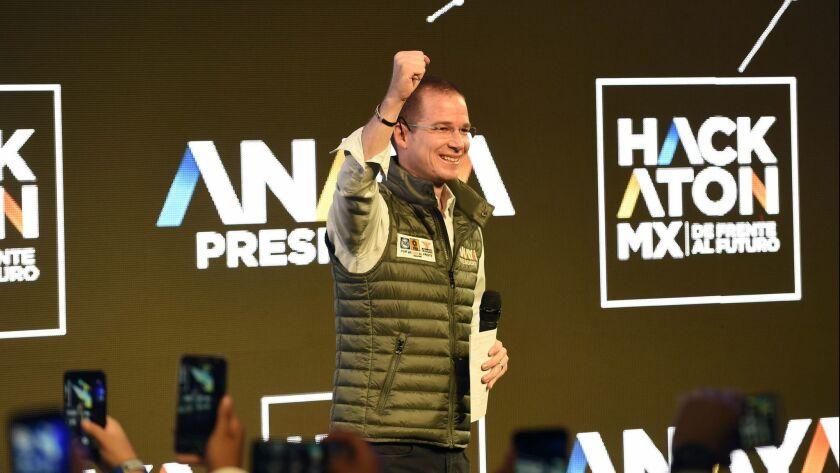 MEXICO-POLITICS-VOTE-ANAYA