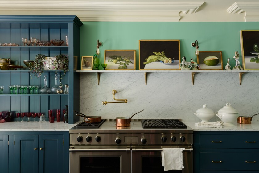 Backsplashes, a one-step kitchen makeover - Los Angeles Times on new home interior design ideas, new model home interiors, new home interior design kitchens,