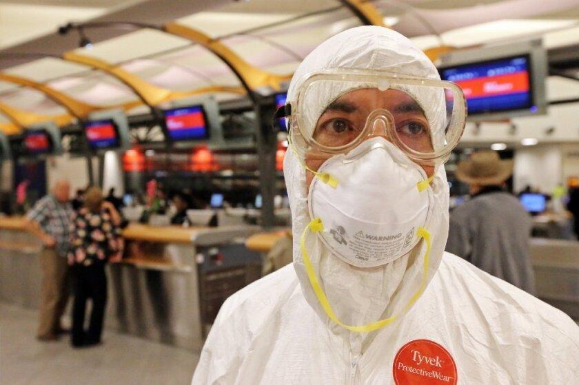 Ebola passenger