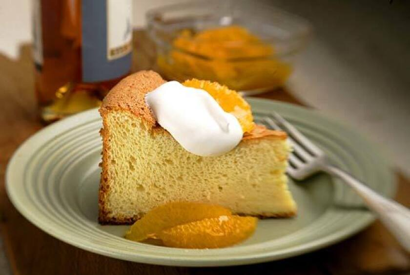 Serve with whipped cream and peaches or nectarines splashed with Vin Santo, or with sliced oranges drizzled with honey and Vin Santo.