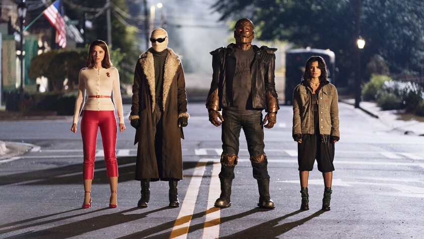 Review: 'Umbrella Academy' vs DC Universe's 'Doom Patrol': A