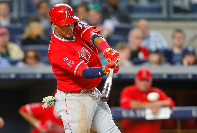 Escobar sets the table for Angels lineup