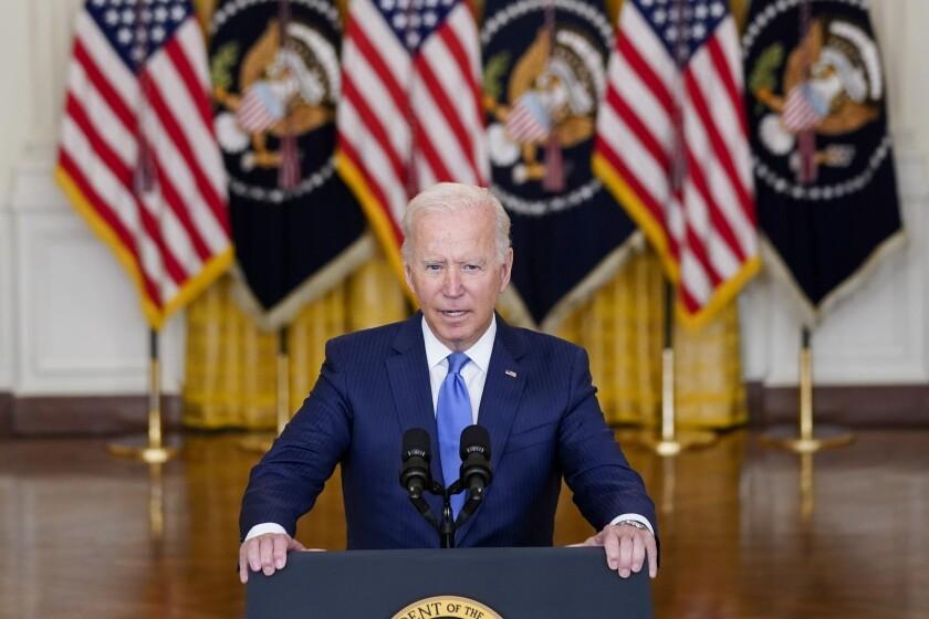 President Biden delivers remarks.