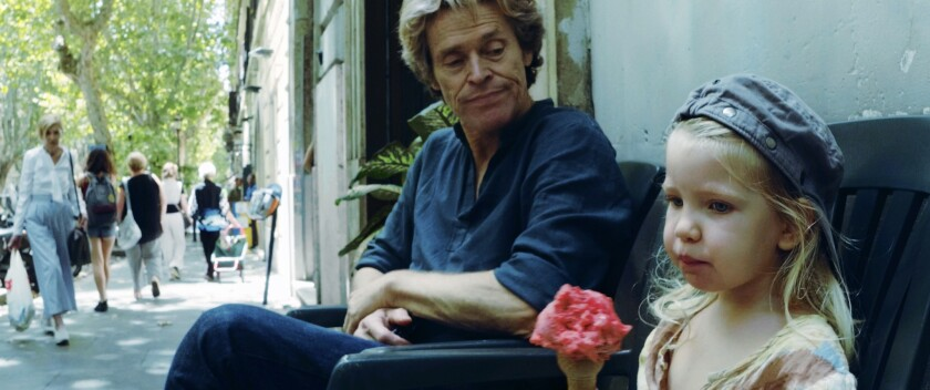 "Willem Dafoe and Anna Ferrara in ""Tommaso"""