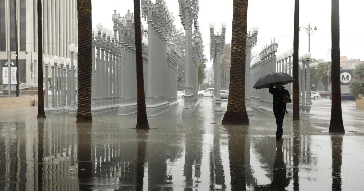 Θυμάμαι τη βροχή; Ένα ατμοσφαιρικό ποτάμι φέρνει πίσω στη Νότια Καλιφόρνια
