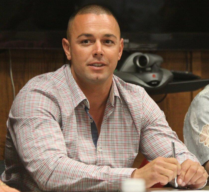 Newly elected LJSA chair Nick LaBeouf