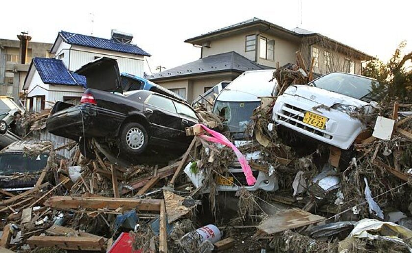The aftermath of the devastating earthquake and tsunami in Japan