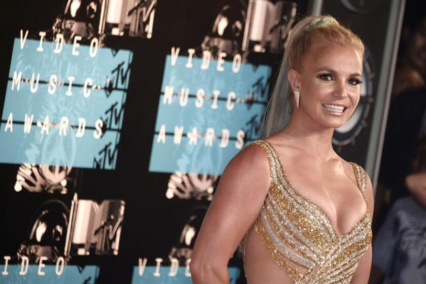 Britney Spears arrives on the red carpet for the 32nd MTV Video Music Awards at the Microsoft Theater in Los Angeles, California, USA. EFE/FILE