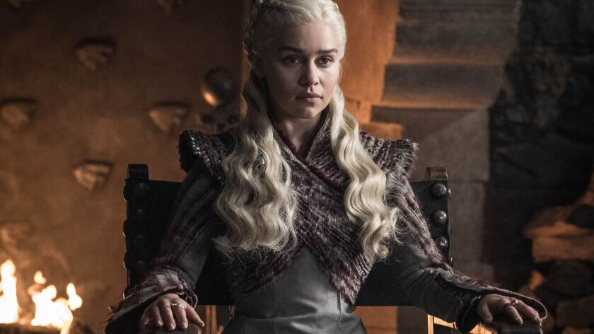 Emilia Clarke portrays Daenerys Targaryen