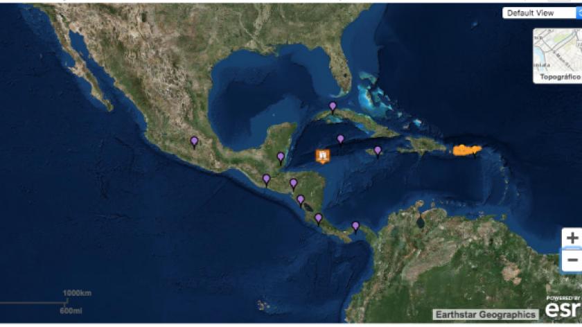 el epicentro se situó a 201,9 kilómetros de la localidad hondureña de Barra Patuca, de 2.758 habitantes, y a 245,2 kilómetros del municipio de Puerto Lempira (Honduras).