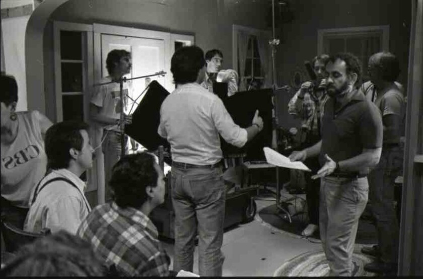 """Filmmaker Paul Espinosa is shown at work in his 1985 film, """"The Lemon Grove Incident."""""""