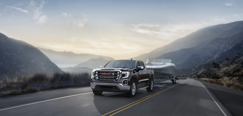 GMC Sierra sales dipped 5 percent in the second quarter.