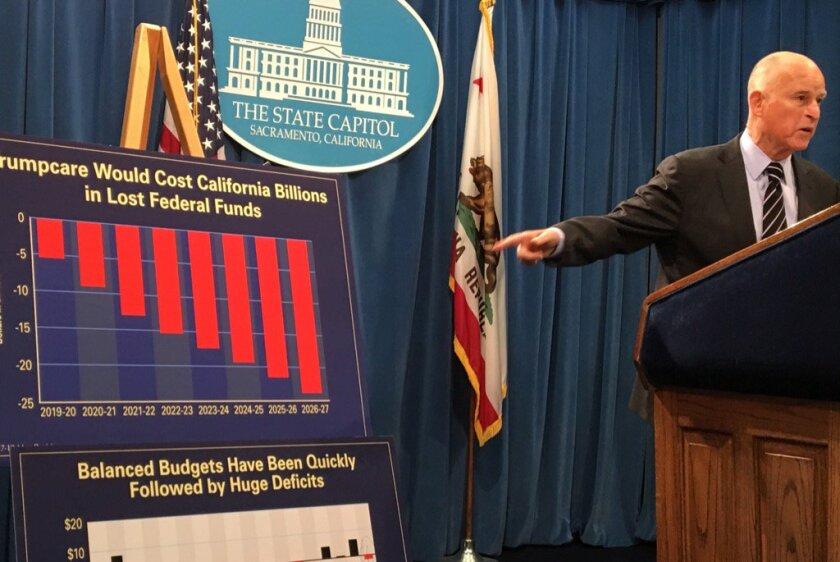 California politics updates: Gov  Brown blasts Trump on climate