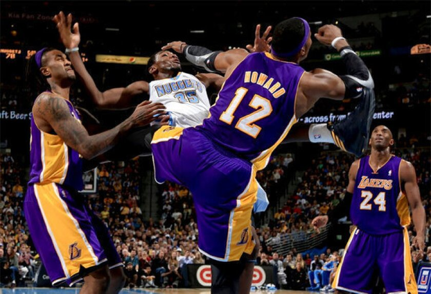 Lakers lose to the Nuggets, 126-114