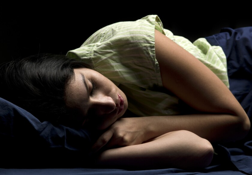 Everyone can use a good night's sleep, experts say.