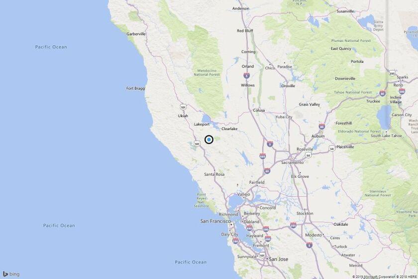 Earthquake: 3.2 quake strikes near Black Oaks, Calif.