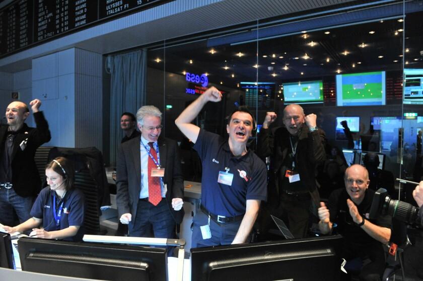 European Space Agency Rosetta team