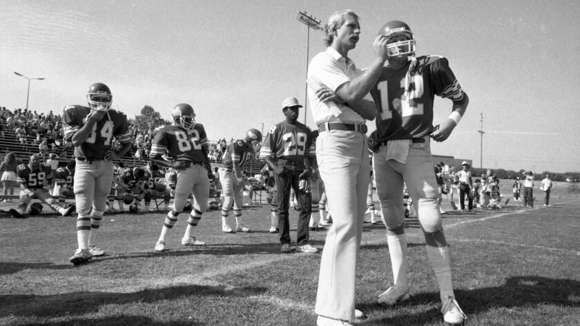 Football coach Tom Craft's offensive strategy was ahead of its time during his two stints at Palomar College.