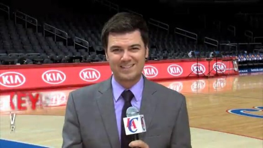 Brian Sieman will move from his radio job to play-by-play TV broadcaster for the Clippers.