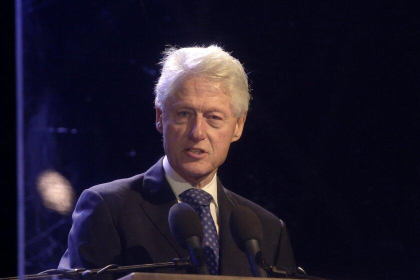 El expresidente Bill Clinton.
