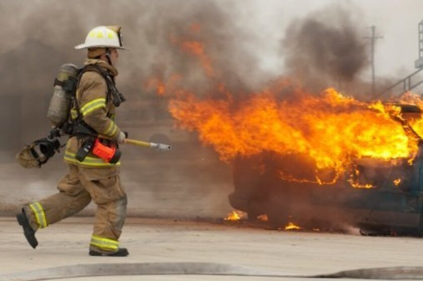 PTSD in first responders is a common workplace risk -- and one that should be addressed by employers as a preemptive measure. Photo Credit: Michael Pettigrew, Photos.com