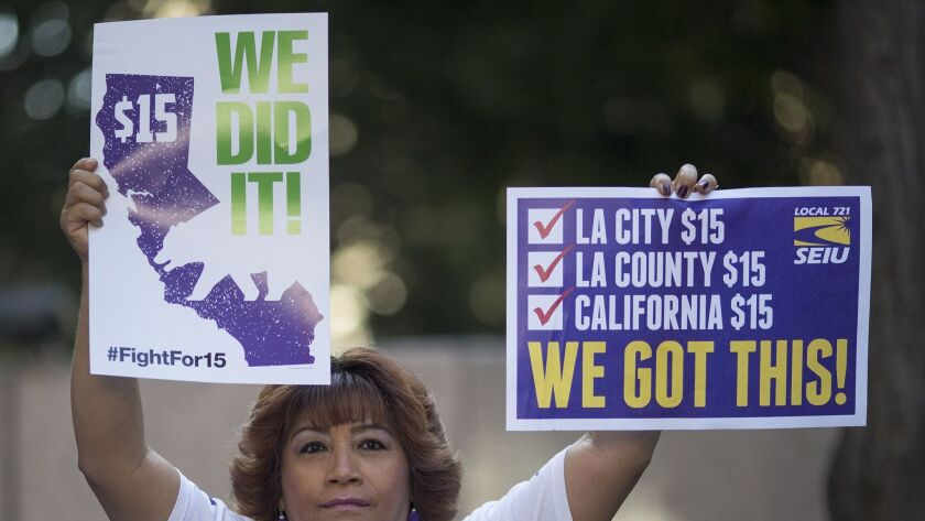 Gov. Brown Signs Landmark Legislation Raising CA Minimum Wage To $15 Per Hour