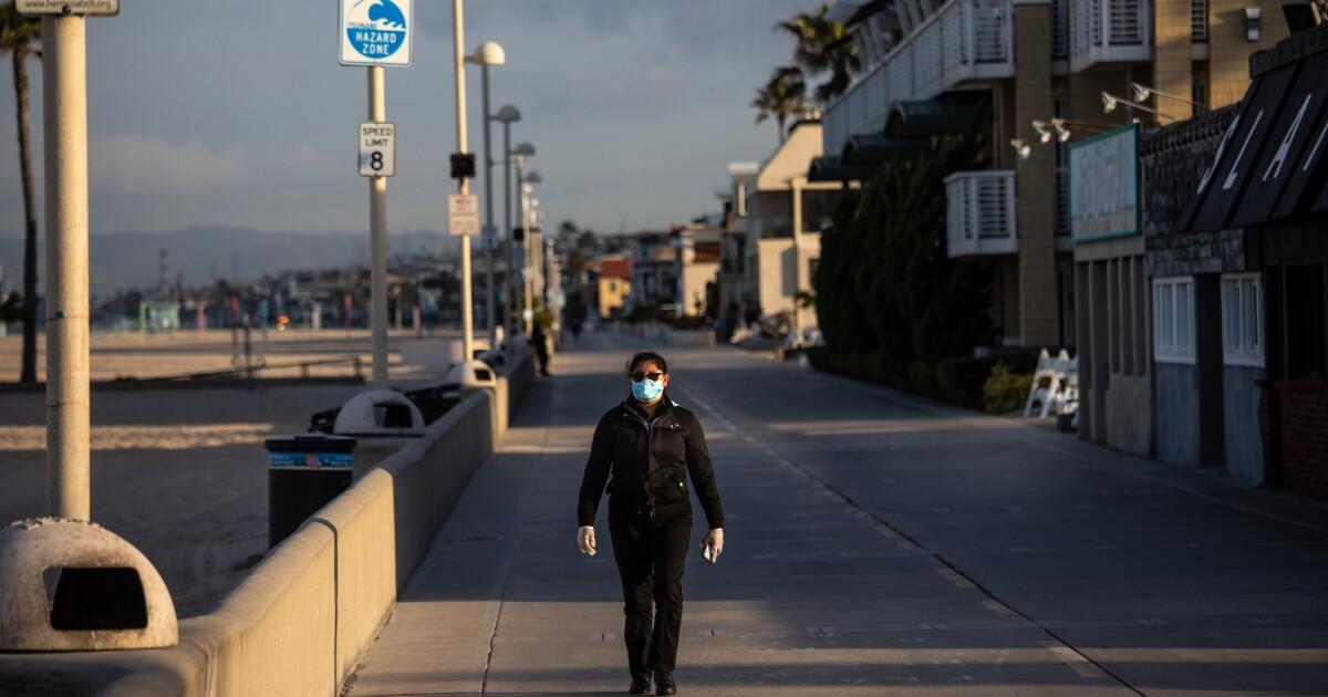 Mehr als 1.000 neue coronavirus-Fälle in L. A. in 2 Tagen wie der Tod Maut überspannungen auf 65