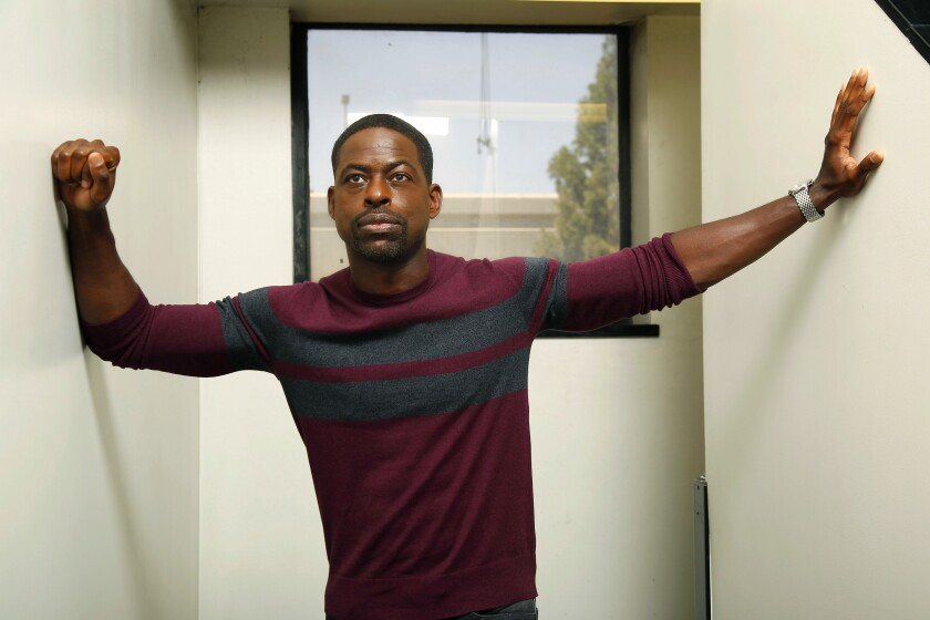 "Sterling K. Brown in ""Waves."""