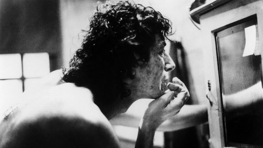"Jeff Goldblum in the 1986 movie ""The Fly."""
