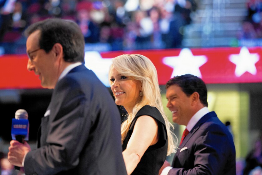 Chris Wallace, Megyn Kelly, Bret Baier