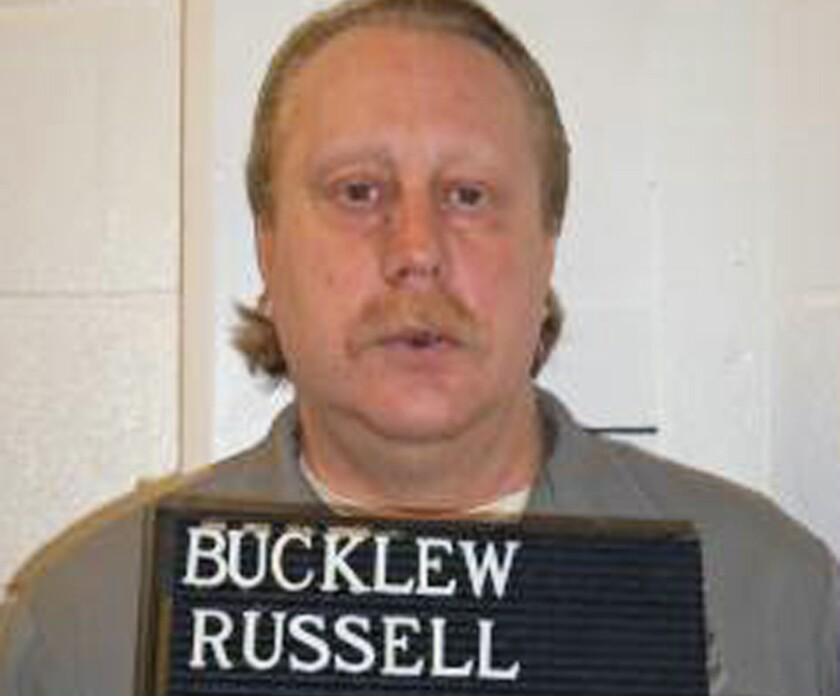 Russell Bucklew is scheduled to die for killing a romantic rival as part of a crime rampage in southeast Missouri in 1996.