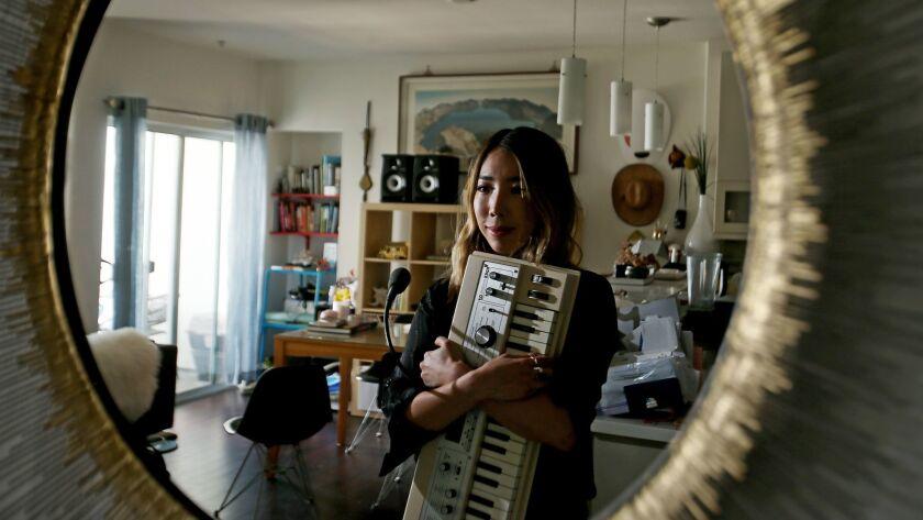 LOS ANGELES, CALIF. - SEP. 1=4, 2017. Jennifer Lee, aka Tokimonsta, produces electronic beat music