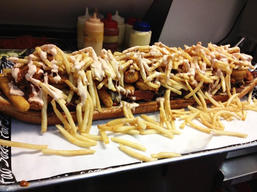 The Big Fat Fatty sandwich