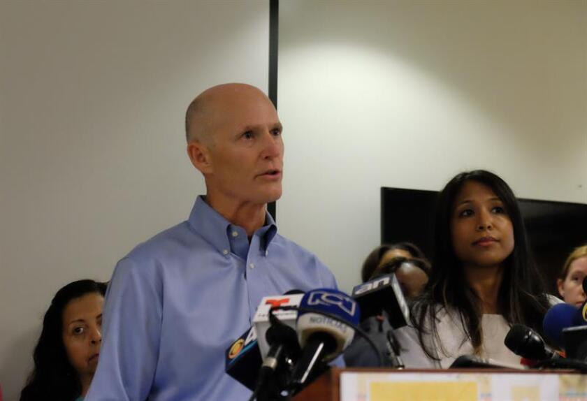 El gobernador de Florida, Rick Scott, declaró hoy libre del virus del zika el último foco de transmisión localizado en Miami Beach, la cuarta zona del condado de Miami-Dade en quedar libre del brote. EFE/ARCHIVO