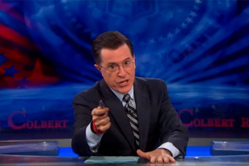 Stephen Colbert reacts to Boston bombing