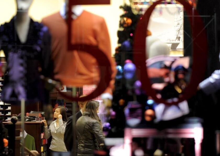 Las ventas de los minoristas se reactivan un 0,7 % en julio