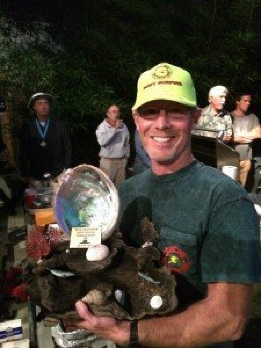 Dr. Chris Lafferty of the Del Mar Bodysurfing Club won first place at the Santa Cruz Bodysurfing Championship.