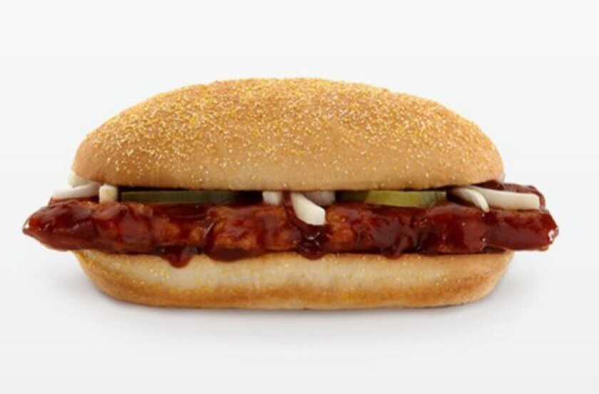 The McDonald's McRib is getting some competition this summer with the new Burger King rib sandwich.