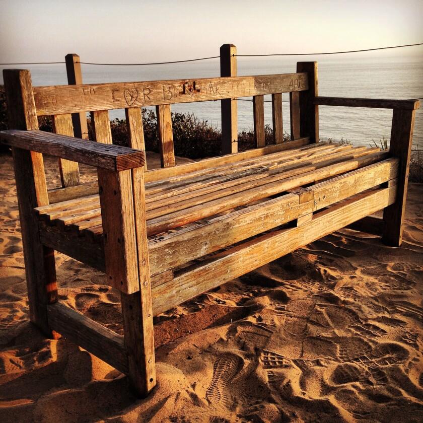 Guy Fleming Trail bench