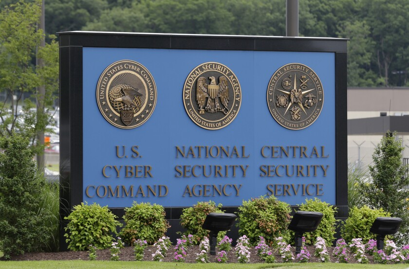 The National Security Agency campus at Ft. Meade, Md.
