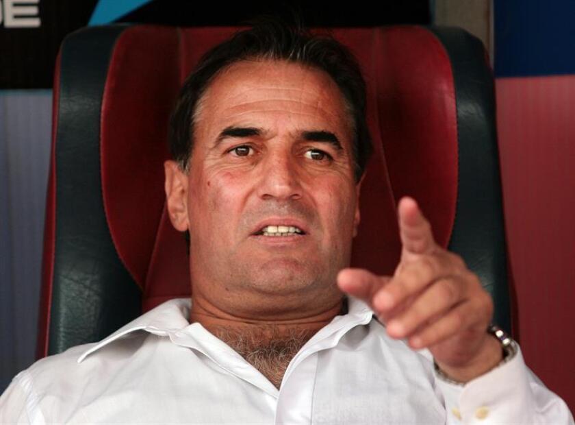 Leonardo Madelon, entrenador del Club Atlético Unión. EFE/Archivo