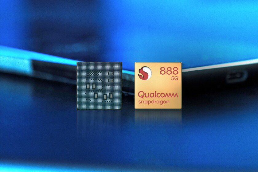 Qualcomm announced its new Snapdragon 888 chip on Tuesday that will power Android smartphones next year.