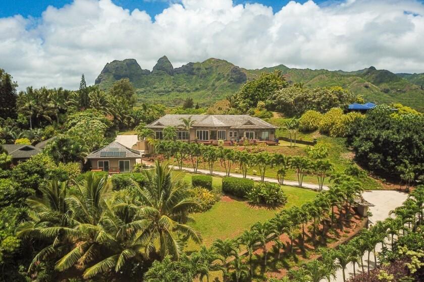 Carlos Santana's home in Hawaii