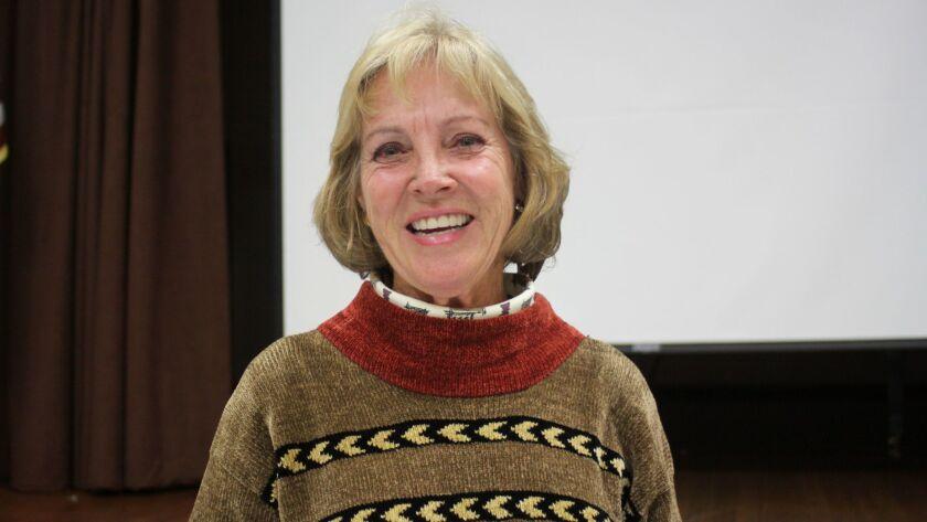 Ann Dynes is the new La Jolla Parks & Beaches advisory board chair.