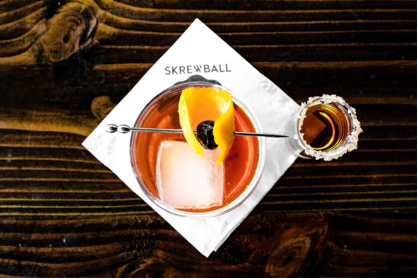 Skrewball cocktail