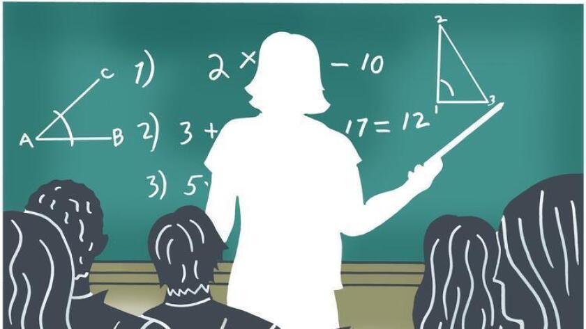 En medio de una escasez de maestros en California, un nuevo informe pide atraer a más personas a la profesión y hacer la enseñanza más prestigiosa. (Anthony Russo / para El Times)