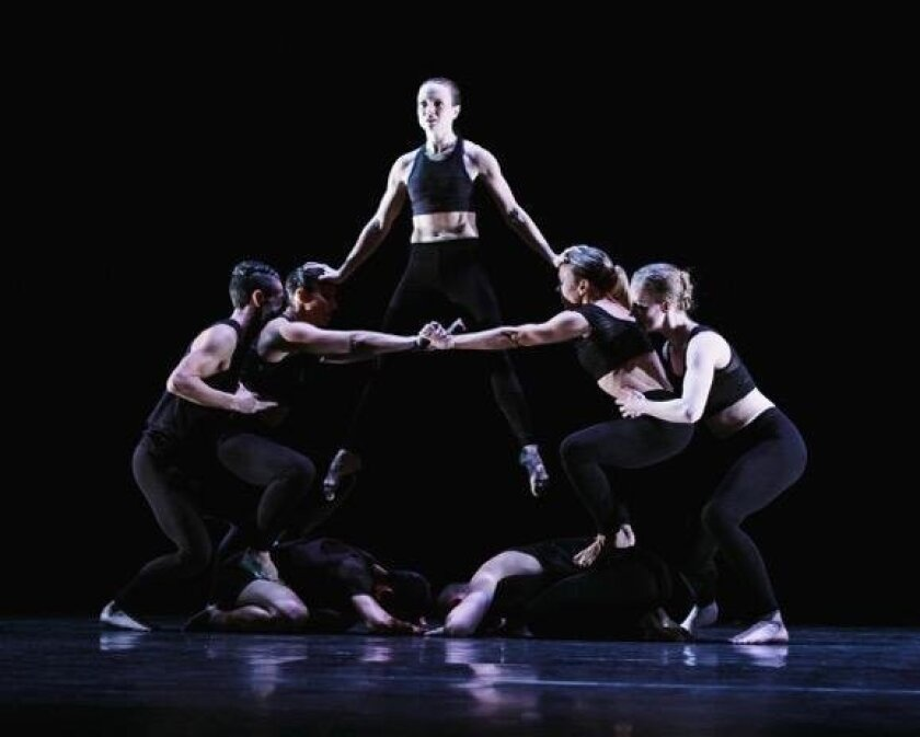 'Lunar Landing,' a segment from Malashock Dance's 'Dreams & Prayers'