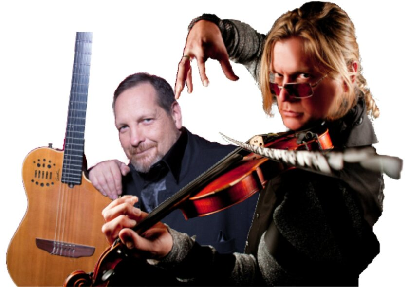 Guitarist Miguel DeHoyos and violinist Alex DePue are the next featured artists in the Community Concerts series.