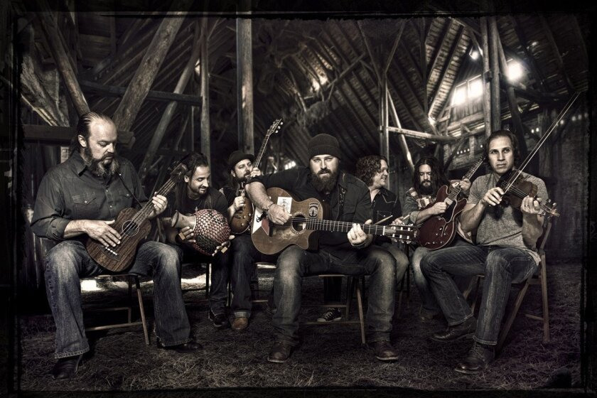 Zac Brown Band was among the performers at the inaugural KAABOO Del Mar. Courtesy photo